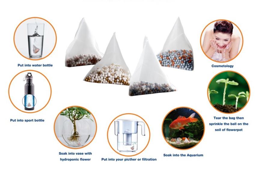 Hydrogen water tea bags